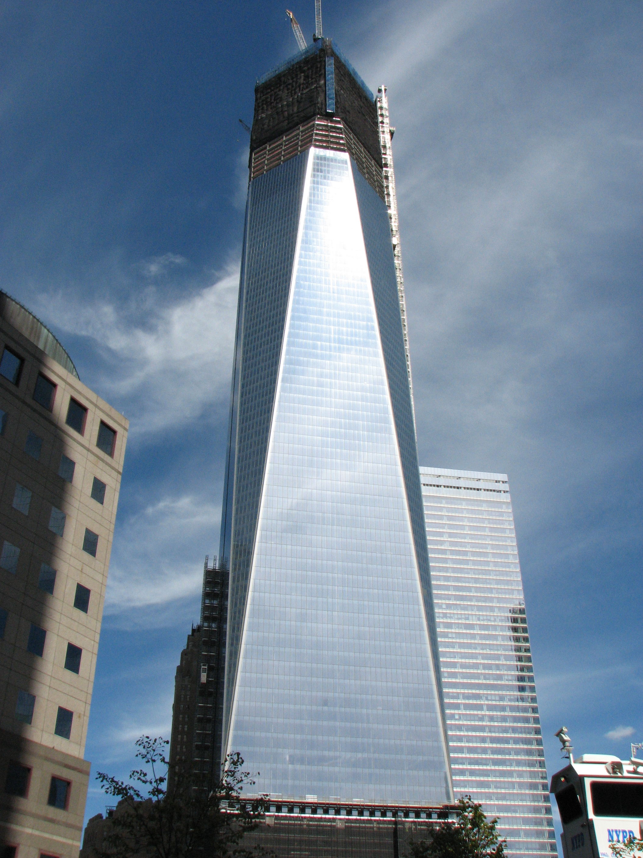 Freedom Tower during my quick trip to NYC
